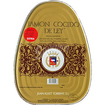 Deley Jamón cocido extra sin piel en lata