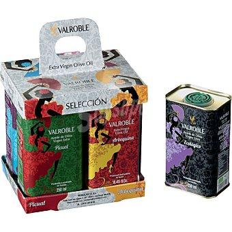 Valroble Aceite de oliva virgen extra Pack 4 latas 250 ml