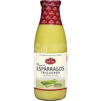 FERRER Crema de espárragos trigueros Botella 720 ml