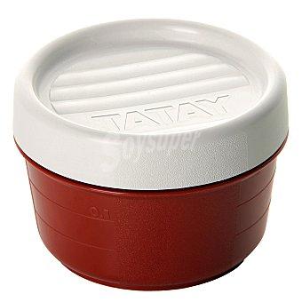 Tatay Hermeticos Redondo de Plástico - Granate 0,2 l.