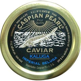 Caspian Pearl Caviar de acuicultura Kaluga Imperial Beluga Tarrina 30 g