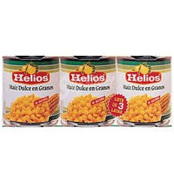 Helios Maíz dulce Pack 3x150 g