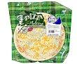 Pizza artesana de cuatro quesos (mozzarella, queso azul, queso cheddar y edam) 570 gramos ALBE