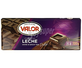 Valor Chocolate con leche Tableta 300 g