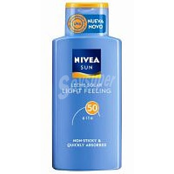 Nivea Sun Loción Light Feeling F50 Bote 200 ml