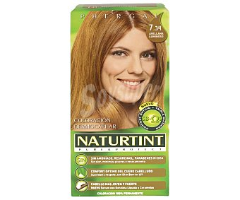 Naturtint Tinte sin amoniaco color avellana luminosa Nº 7.34 1 unidad