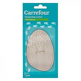 Carrefour Mini plantillas de piel 1 par 2 ud