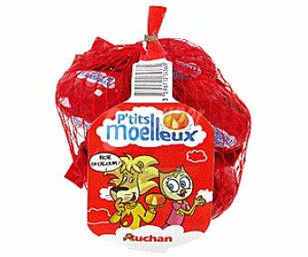 Auchan Queso Mini Moelleux 6 Unidades de 20 Gramos