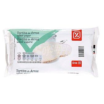 DIA Tortitas de arroz bañadas yogur paquete 130 g