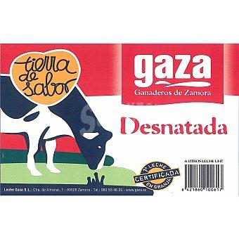Gaza Leche desnatada Pack 6 x 1 l