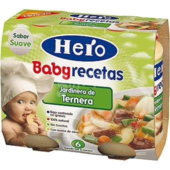 Hero Baby Jardinera de ternera Recetas Estuche 400 g