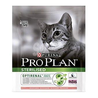 Purina Pro Plan Pienso para gatos adultos esterilizados de salmón optirenal Bolsa 400 g
