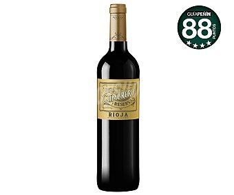 Viña Cumbrero Vino tinto con denominación de origen Rioja botella de 75 centilitros
