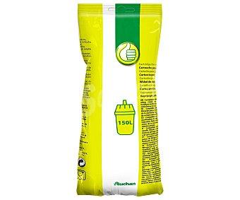 Productos Económicos Alcampo Caja de filtros para jarras filtrantes o purificantes, duración: 150 Litros (4-6 semanas/Filtro) 3 Unidades.