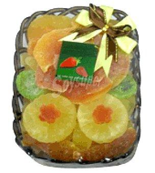 Mango Rosetón ( , melón, kiwi, piña y papaya) Bandeja de 350 g