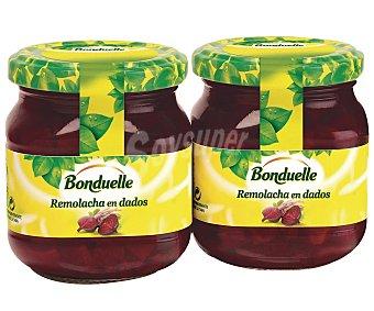 Bonduelle Remolacha en dados  Pack 2 u x 135 g