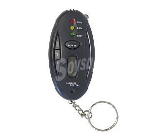 VIP Llavero alcoholimetro electrónico, con 3 leds de indicador de tasa de alcoholemia 1 Unidad