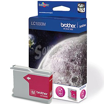 BROTHER LC1000M Cartucho de tinta color magenta