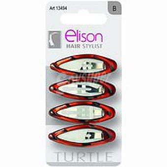 TURTLE 4 clip peq.elison clasi