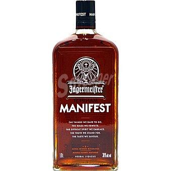 Jägermeister Manifest licor de hierbas barrica Botella 1 l