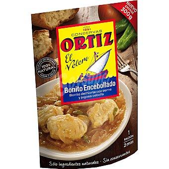 Conservas Ortiz Bonito encebollado Sobre 300 g