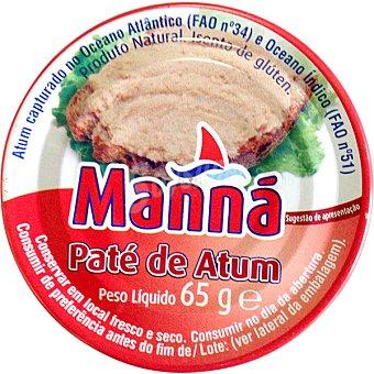 Manna Paté de atún Lata 65 g neto escurrido