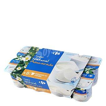 Carrefour Yogur azucarado natural Pack de 8 unidades de 125 g