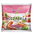 Queso mozzarella fresca light 125 G 125 g Miraflores