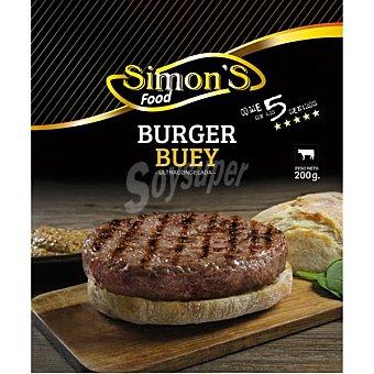 Simon's Hamburguesa de buey  envase 200 g