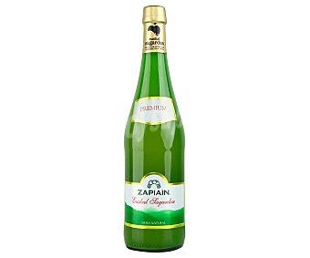 Zapiain Sidra natural del Pais Vasco premium Botella de 75 cl