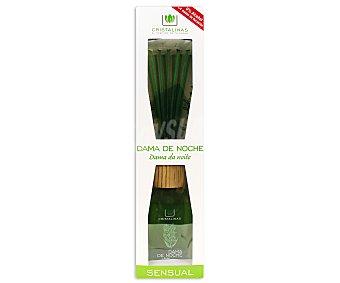 Cristalinas Ambientador de varillas con aroma dama de noche 220 mililitros