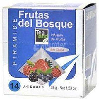 TEALAND Infusión frutas del bosque 14 piramides
