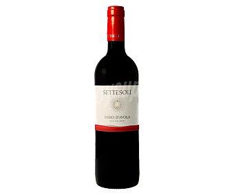 SETTESOLI Vino tinto con denominación de origen Sicilia 75 cl