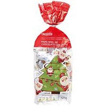 Eroski Papá Noel de chocolate Bolsa 125 g