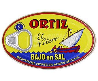Ortiz Bonito en aceite de oliva bajo en sal 82 gramos