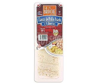 La Broche Flauta de pollo asado y 4 quesos 110 Gramos