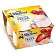 Yogur de fresa Pack 4 unidades x 125 g La Lechera Nestlé