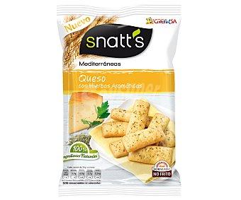 SNATT'S Palitos de queso con hierbas aromáticas 110 gramos
