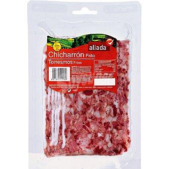 Aliada Chicharrón frito en lonchas sin gluten Envase 200 g