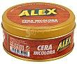 Cera incolora para todo tipo de madera (restaura, nutre y protege) 250 mililitros Alex