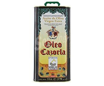 Oleo Cazorla Aceite de oliva virgen extra obtenido directamente de aceitunas 5 litros