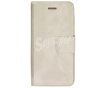 Auchan Funda con tapa para Iphone 5/5S (teléfono no incluido)