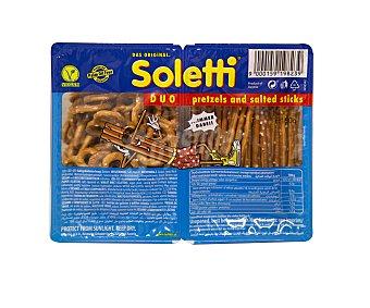 Soletti Palitos y pretzels salados 160 g