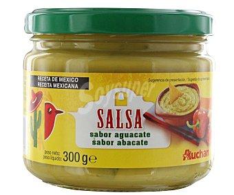 Auchan Salsa de guacamole Frasco de 300 gramos