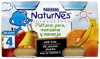 Nestlé Tarrito de pera-manzana-naranja-plátano Pack 2x130 g
