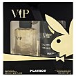 Pack vip colonia (vaporizador 60 ml) + desodorante (spray 150 ml) Estuche 2 u  Playboy Fragrances
