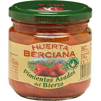 Huerta Berciana Pimientos asados del Bierzo frasco 285 g neto escurrido frasco 285 g neto escurrido