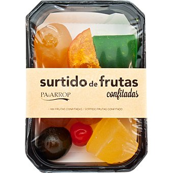 PAIARROP Surtido de frutas confitadas Estuche 350 g