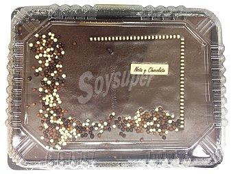 Mercadona Tarta nata chocolate 20 raciones (rectangular) pasteleria horno 1225 g
