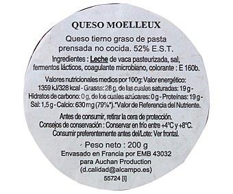 Auchan Queso moelleux 200 gramos